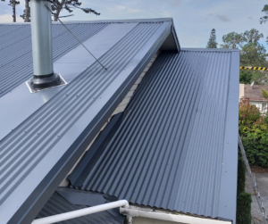 Luxton Plumbing Auckland - Metal Roof Repair example